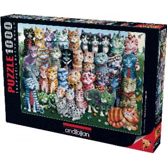 Anatolian Puzzle 1000 Parça Aile Toplantısı 1030