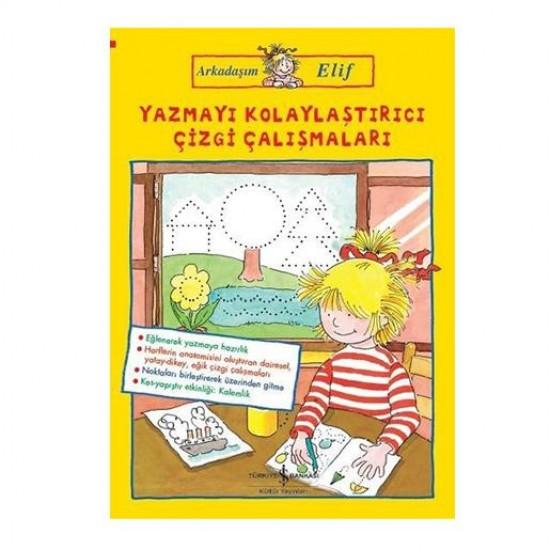 Çizgi Çalışmaları Arkadaşım Elif / Hanna Sörensen - İş Bankası Kültür Yayınları