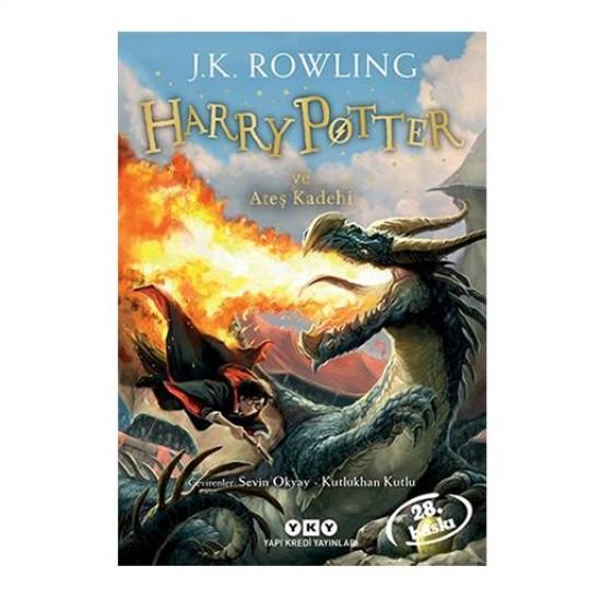 Harry Potter-4 Ateş Kadehi \ J. K. Rowling - Yapı Kredi Yayınları