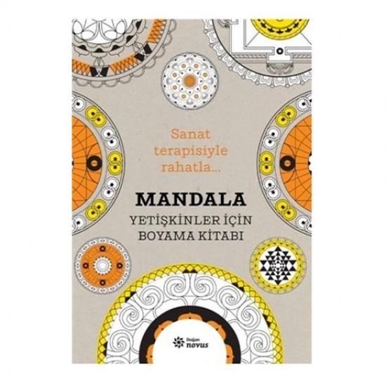 Mandala Yetişkinler İçin Boyama Kitabı / Sophie Leblanc - Doğan Novus